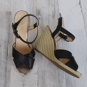 Cole Haan Espadrille Wedge Sandals